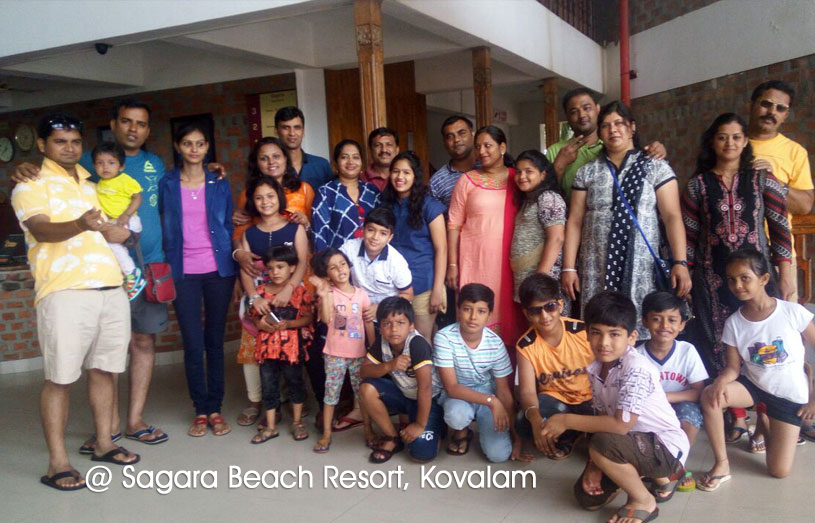 Mr Harish Gandhi From Maharashtra Along With His Family Consisting Of A Total 24 Members Both Adults And Children Came To The Gods Own