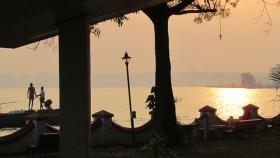 Sunset at kumarakom