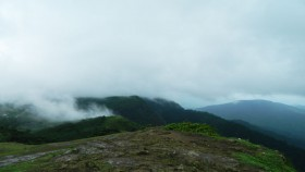 Misty hills in thekkady