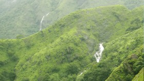 Waterfalls in thekkady