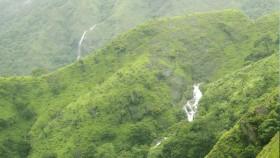 Waterfalls in thekkady