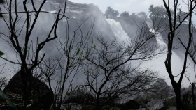 Waterfalls in Athirapally