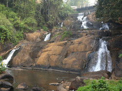 Aruvikkuzhi waterfalls