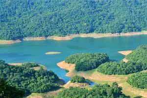 Thenmala reservoir