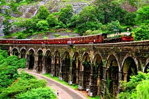 Metre  Gauge  railway thenmala