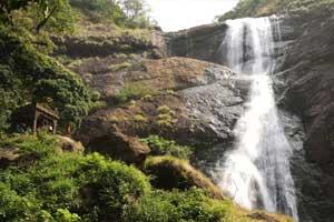 Palaruvi Falls Thenmala