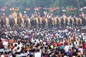 Aarattupuzha pooram Thrissur