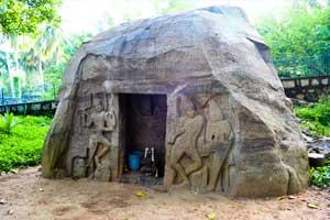Vizhinjam Rock Cut Cave